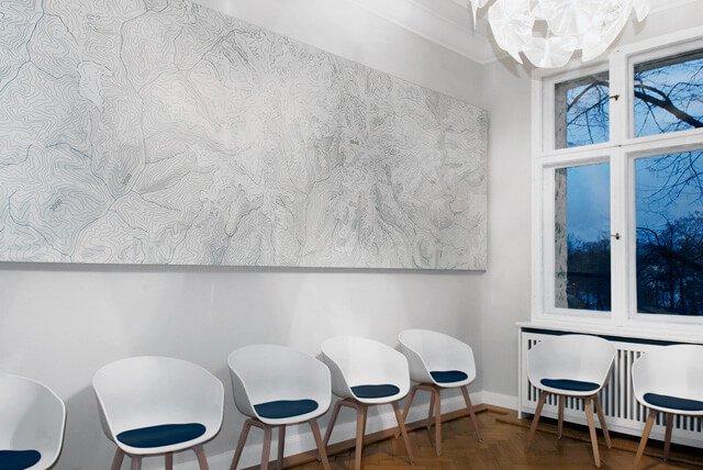 Wartebereich urologische Facharztpraxis Berlin
